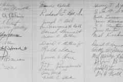 Charter Member signatures65pp